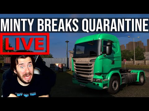 Taking Contactless Delivery To A WHOLE NEW LEVEL In Euro Truck Simulator 2