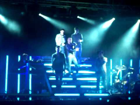 The Wanted - Heart Vacancy At Doncaster Racecourse. 14-5-11
