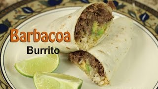 Barbacoa Burritos With Cilantro Lime Rice & Avocado by Rockin Robin