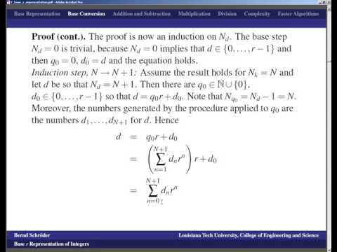 LSU   Number Theory   Lecture 07 base r representation