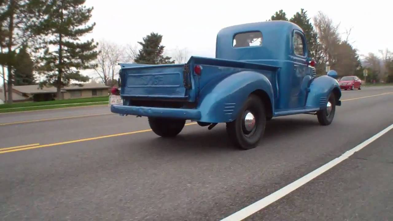 Vintage Dodge Pickup Truck - YouTube