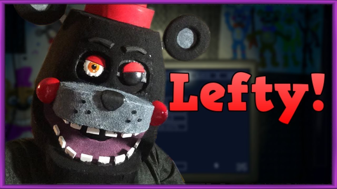 Lefty Mask!! Five nights at Freddys costume