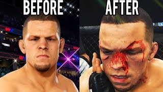 NATE DIAZ RIVAL FIGHT!! - UFC Career Mode - Part 8