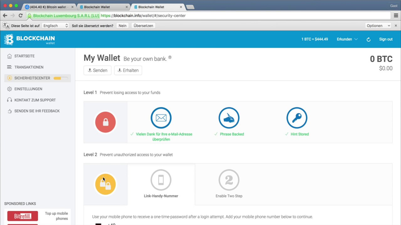 platincoin wallet