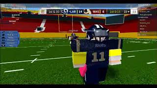 (NO FACE CAM) Me playing Football on Roblox.