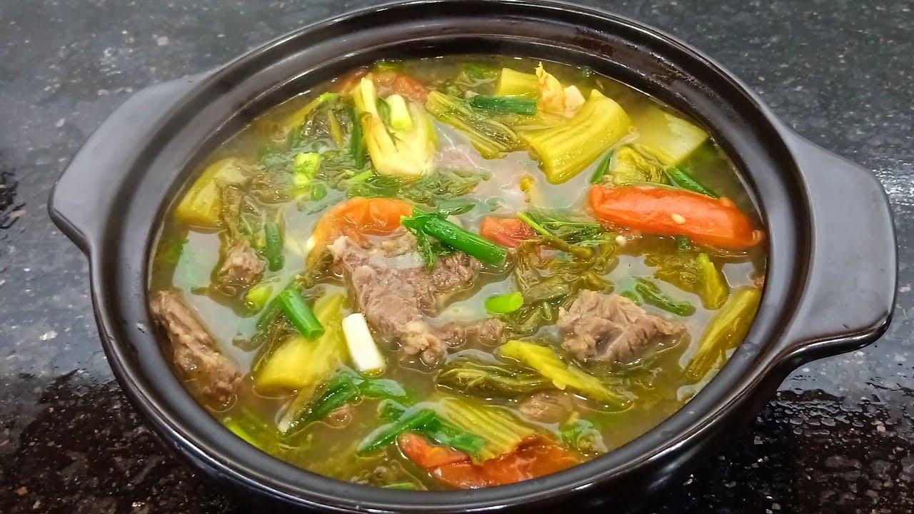 Canh dưa bò – Bò hầm dưa cải chua