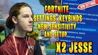 x2Twins Jesse Fortnite Settings, Keybinds and Setup Updated 2020