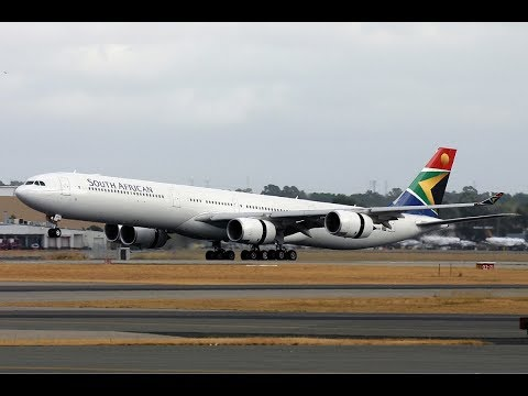 Washington Dulles (KIAD) to Accra Ghana (DGAA) FSX South African A340-600
