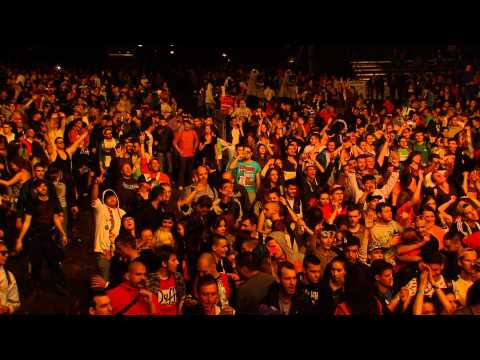 Fred V & Grafix feat. MC Dynamite LIVE @ EXIT Festival 2014 - Best Major European Festival (FULL HD)