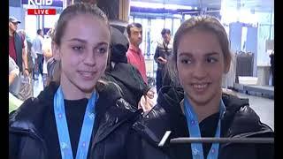 Українські грації: додому з медалями!