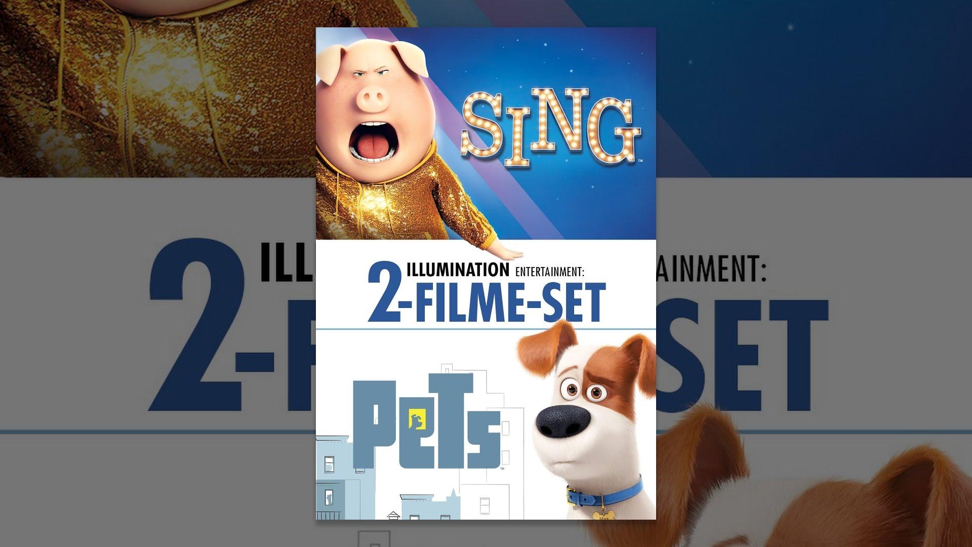 Pets und Sing - 2-filme-Set