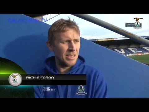CaleyJagsTV : Richie Foran post match Interview V Hamilton