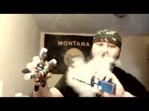ECIG VAPOR JUICE STORE (MADE IN MONTANA) JUICE REVIEW