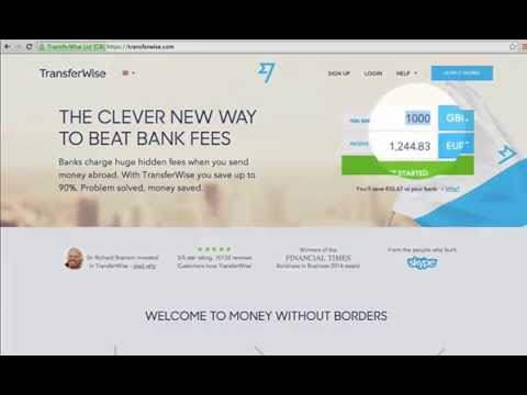 Tutorial : How to use TransferWise ?