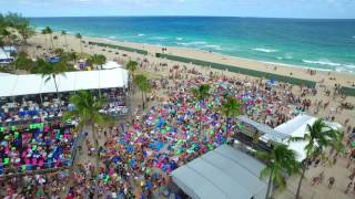Riptide Music Festival from the Sky