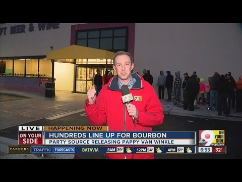 Fans camp out for Pappy Van Winkle