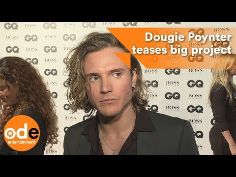 GQ Awards 2017: Dougie Poynter teases big project