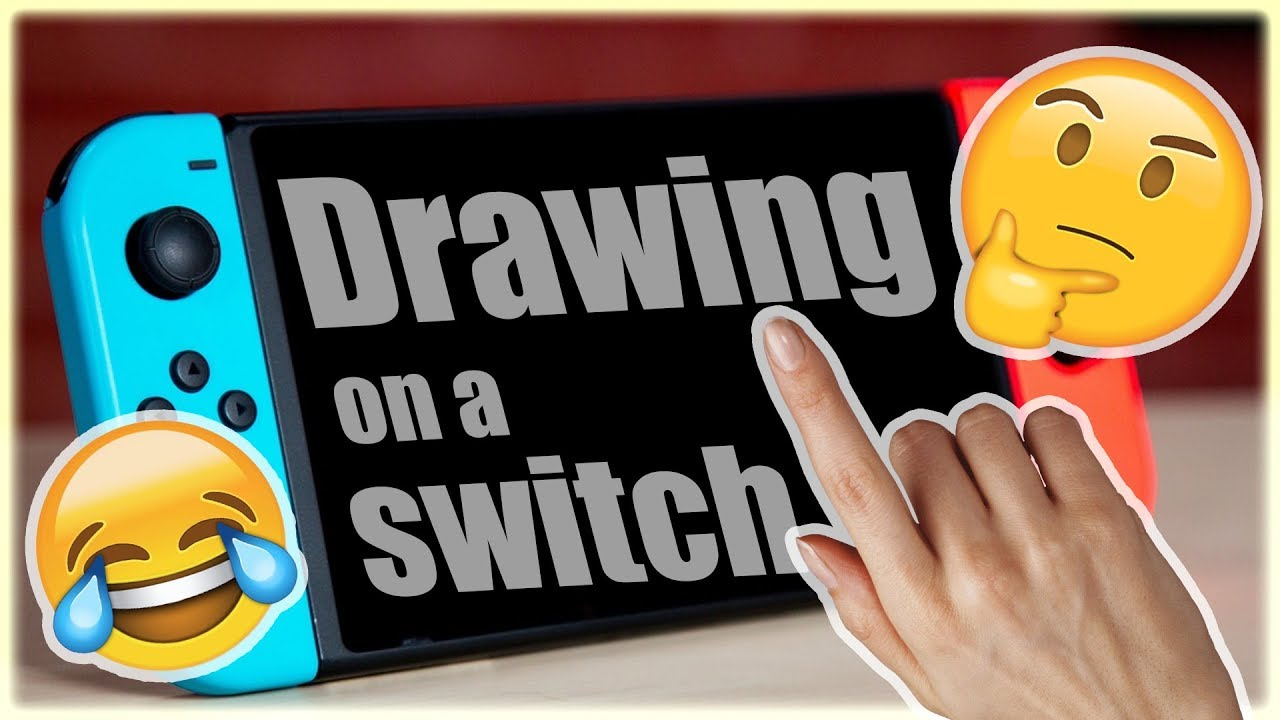 Drawing On A Nintendo Switch Art Challenge Youtube