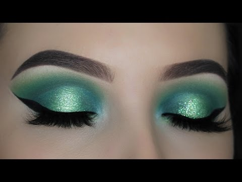 Green Halo Eye Makeup Tutorial