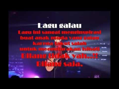 Lagu galau lyric Al ghazali| Lagu populer 2016