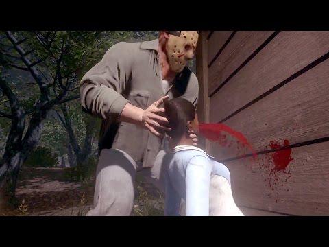 Пятница 13-е — Разбивание головы об стену! Геймплей! (HD) E3 2016 Friday the 13th