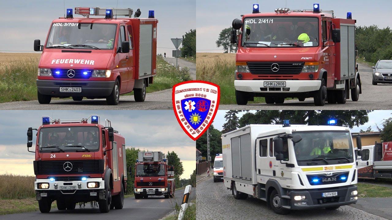 🚨 [Brand Kirche in Thiemendorf] Einsatz für die Feuerwehr Heideland + Feuerwehr Eisenberg + ASB Gera