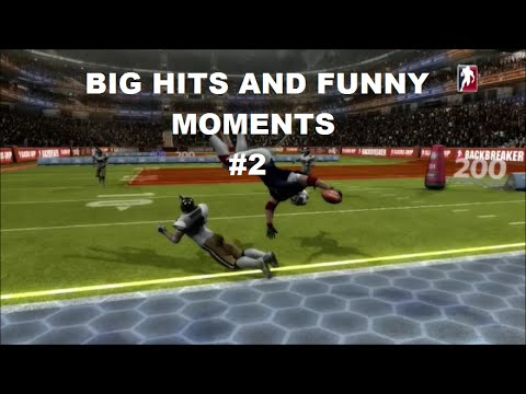 Backbreaker Vengeance Big Hits and Funny Moments Compilation #2