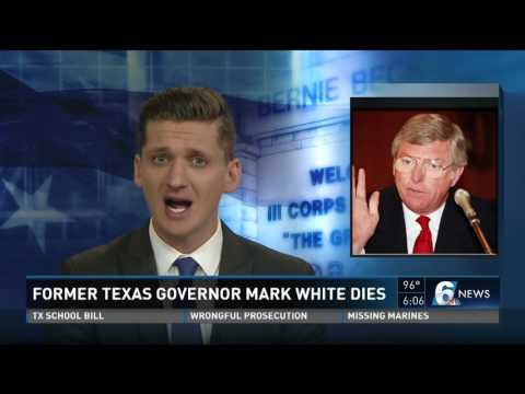 Former Texas Governor Mark White dies
