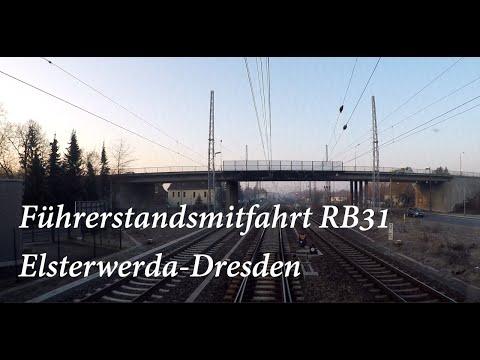 Führerstandsmitfahrt RB31 Elsterwerda-Dresden