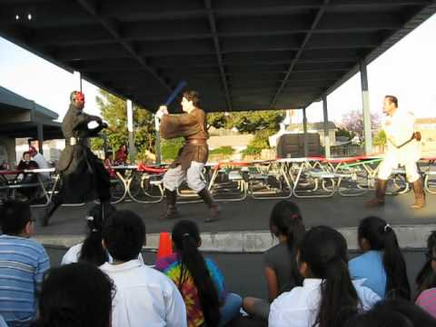 Saber Guild Performance At Esplanade Elementary School in Orange California on 6-7-12