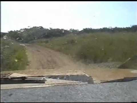 Toyota Corona Rally Crash