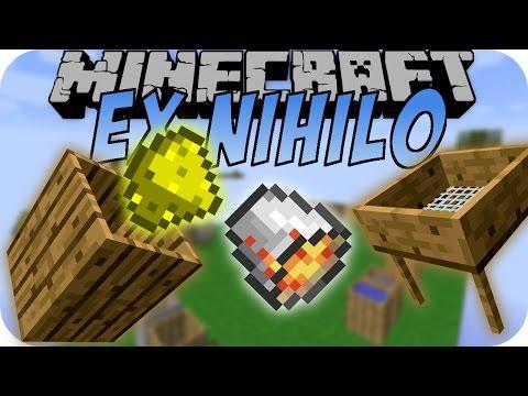 Minecraft EX NIHILO MOD (Kompost, Skyblock, Würmer) [Deutsch]
