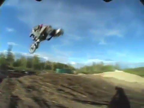 Freestyle mini dirt bike- Christoph vonAlvensleben