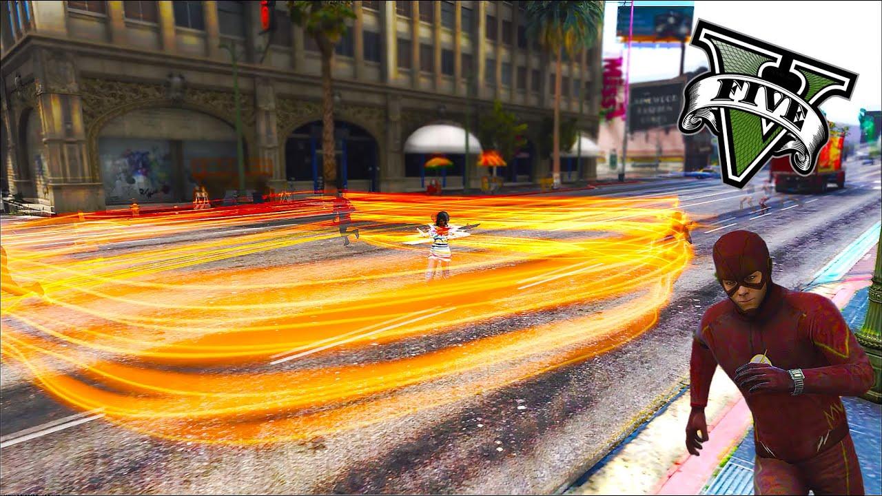GTA 5 Flash Vs Fox Quicksliver - Battles - Comic Vine