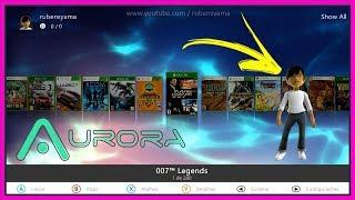 Skin Default da Aurora 0.7b com Avatar completo By: M0514H • (nº1161)