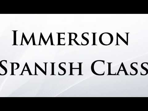 Basic Spanish Immersion class for beginners - Lesson 1 - Language Hub