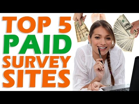 Top 5 PAID Survey Sites