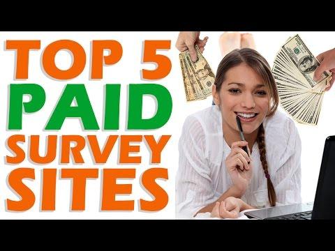 Top 5 PAID Survey Sites