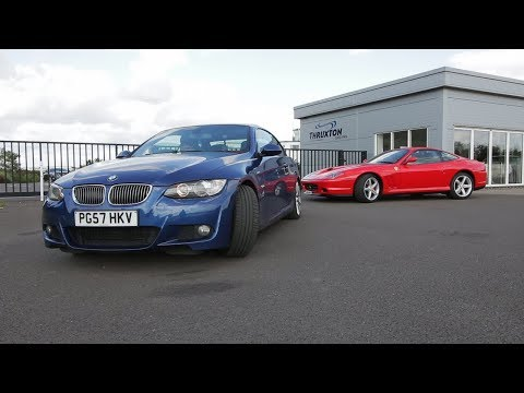 🎬OUR FIRST TIME DRIFTING! (BMW 330i Feat. Ferrari 575M Maranello)