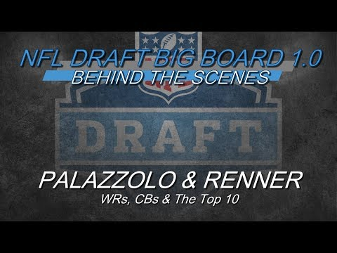 Behind The Scenes: PFF 2019 NFL Draft Big Board 1.0 - WRs, CBs & The Top 10