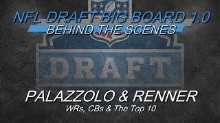 Behind The Scenes: PFF 2019 NFL Draft Big Board 1.0 - WRs, CBs & The Top 10