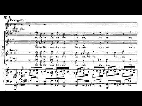 Bach BWV 244-6-7 Da nun Jesus war zu Bethanien