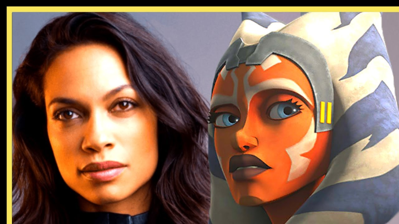 Finding Ahsoka Tano in a Rosario Dawson Live Action Clip - The Mandalorian Season 2