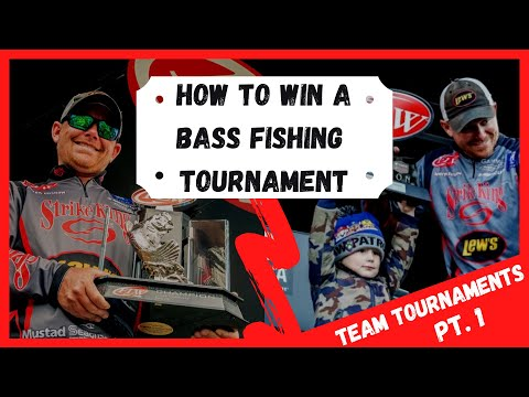 How To Win A Bass Fishing Tournament (Part 1) Team Tournament Edition