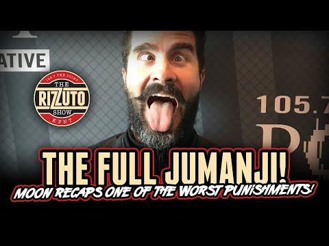 THE FULL JUMANJI video you've been waiting for! [Rizzuto Show]