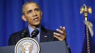 أوباما يقول إن إنجاز اتفاق في قمة باريس ممكن وإن الوقت حان لإنهاء الأزمة في سوريا