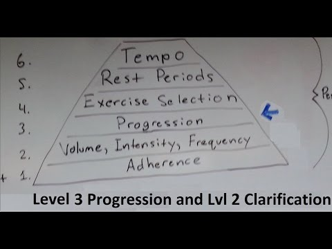 Muscle and Strength Training Pyramid Level 3 Progression (with VIF clarification)