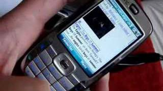 Youtube on HTC S710 Vox