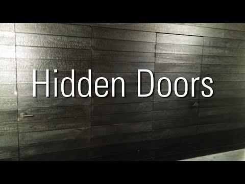 Hidden Doors in Shou Sugi Ban plus tips for install
