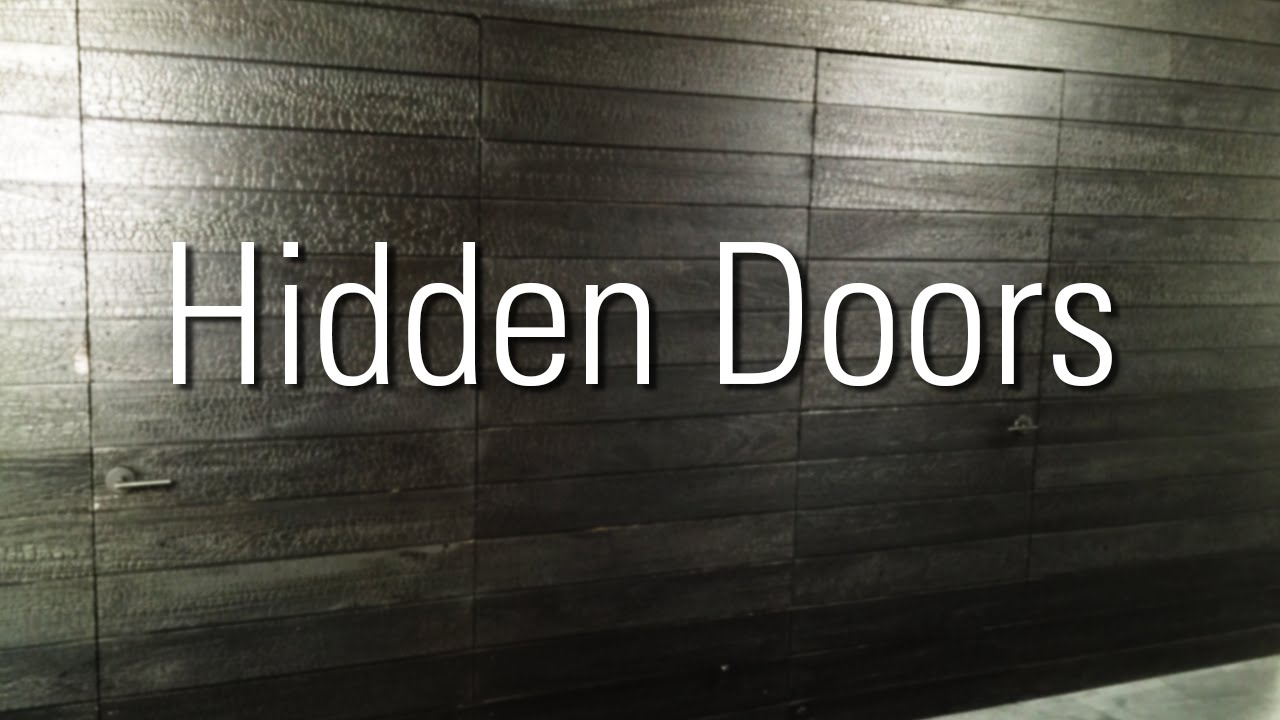 Hidden Doors In Shou Sugi Ban Plus Tips For Install
